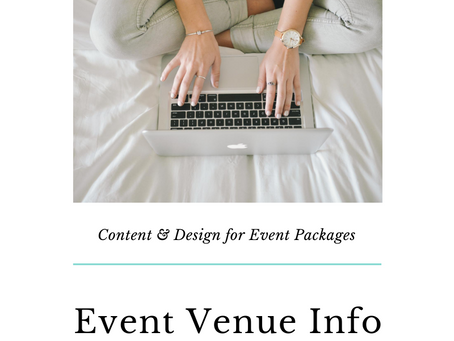 Content & Design: Event Packages