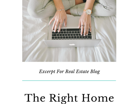 Blog: Find The Right Home For Your Family