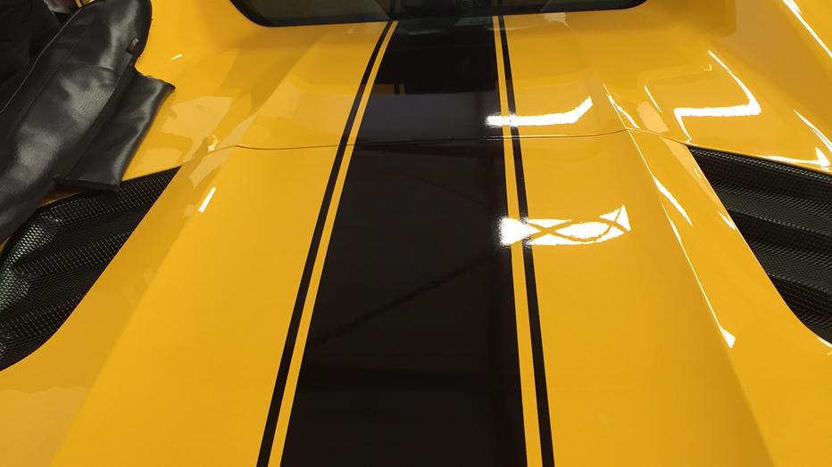 Ferrari 488 GTB 3M Gloss Black Stripe