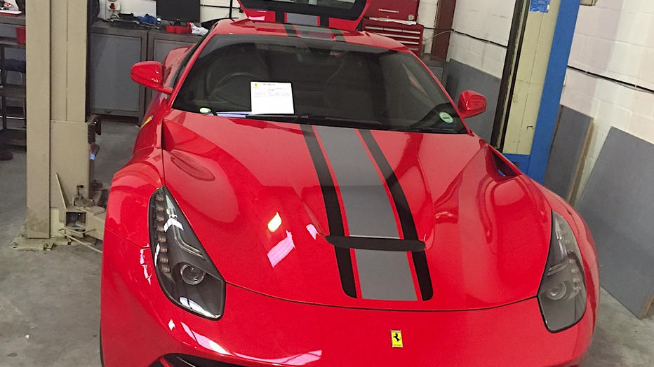 Ferrari F12 3M TDF Stripe