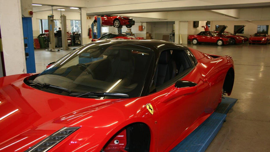 Ferrari 458 3M Gloss Black Roof