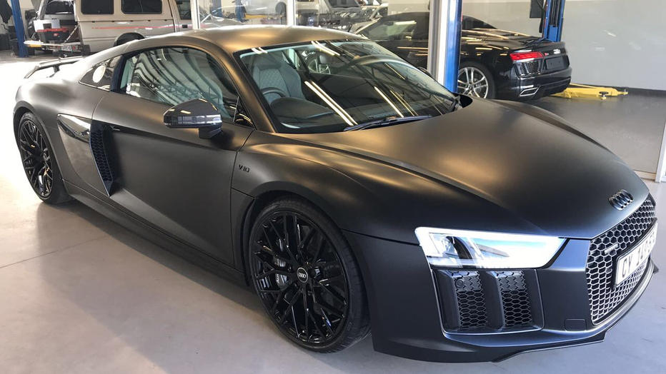 Audi R8 V10 Plus 3M Satin Black