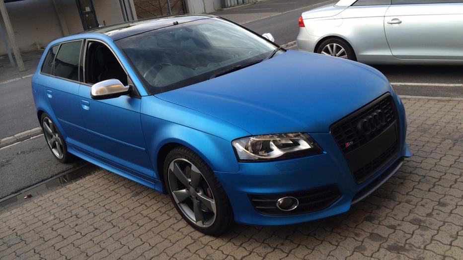 Audi S3 Matte Metallic Blue