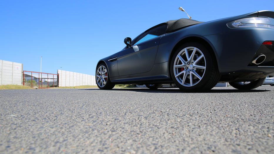 Aston Martin 3M Satin Thunder Cloud