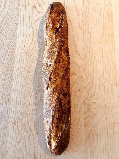 Samedi 12 décembre - Demi baguette, farine blanchie