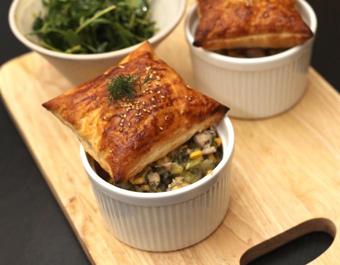 Quick and Easy Healthy Chicken Pot Pie Recipe