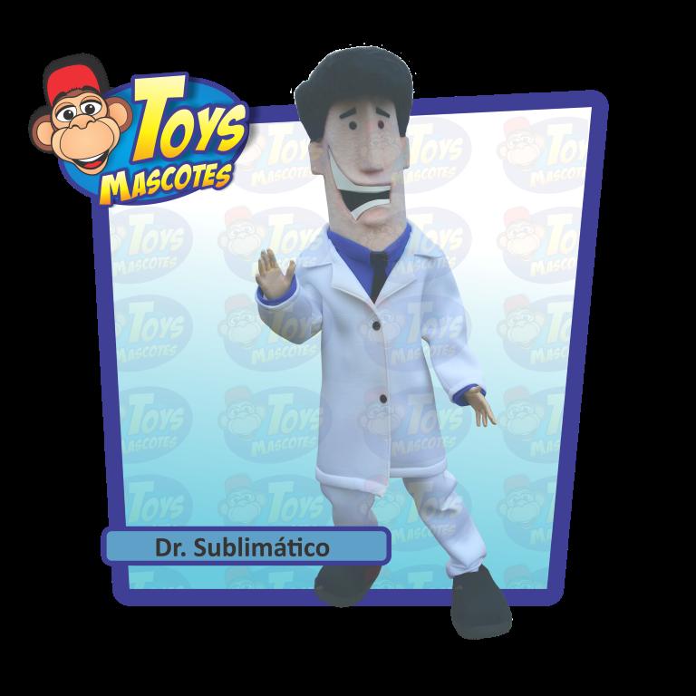 MASCOTE DR. SUBLIMÁTICO