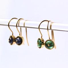 Walled Bead Earrings