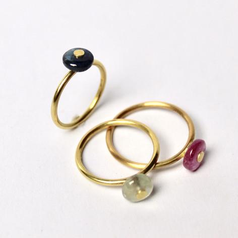 Simple Bead Rings