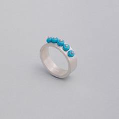 Plump Bead Band Ring