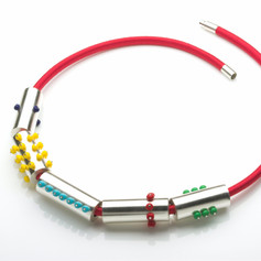 Chunky Tube Necklace