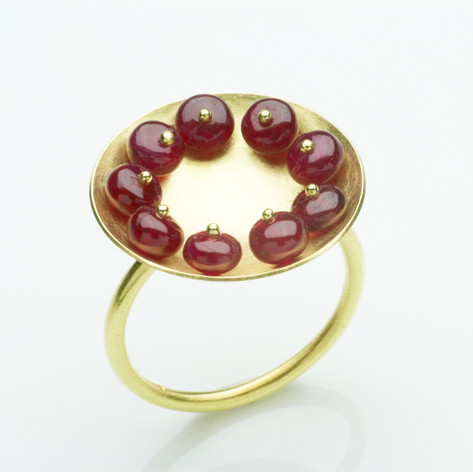 Ruby Cup Ring