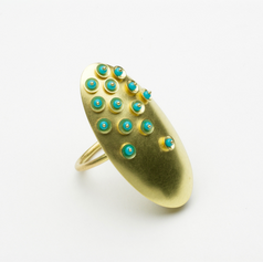 Oval Pillow Ring