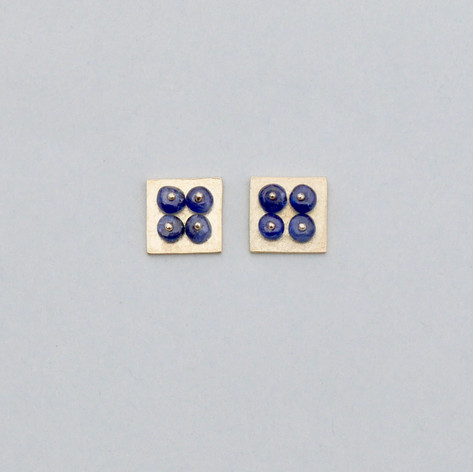 Four Square Ear Studs