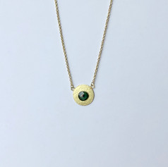 Single Disk Necklace