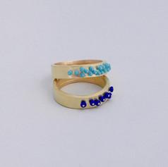 Sprinkle Band Ring