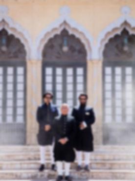 Raja_with_sons_Amir_Khan_Ali_Kh