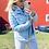 Thumbnail: Doudoune bleu ciel