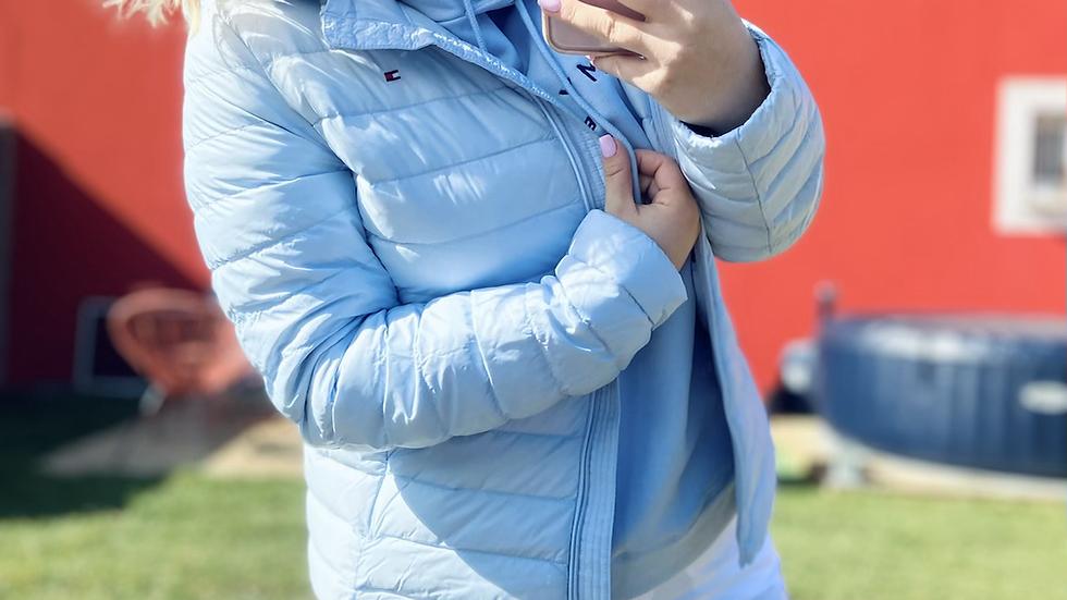 Doudoune bleu ciel
