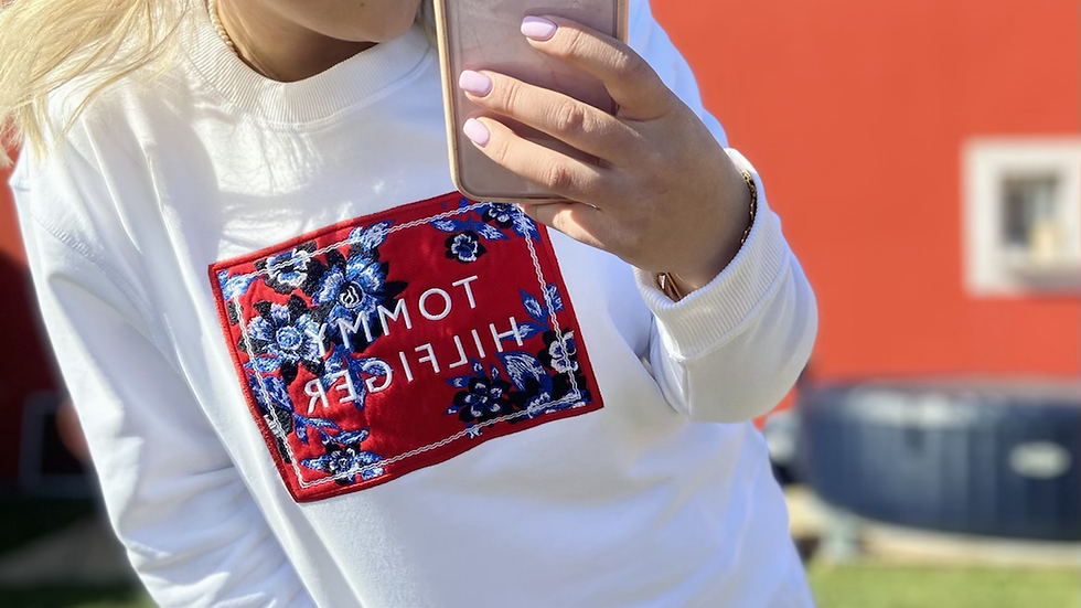 Pull florale Tommy