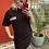 Thumbnail: Robe Colmar à capuche noir