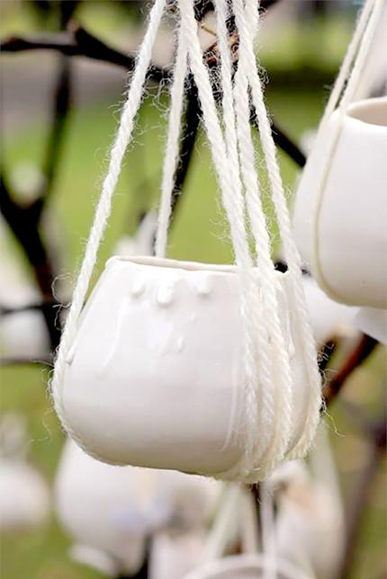 porcelain pot tree