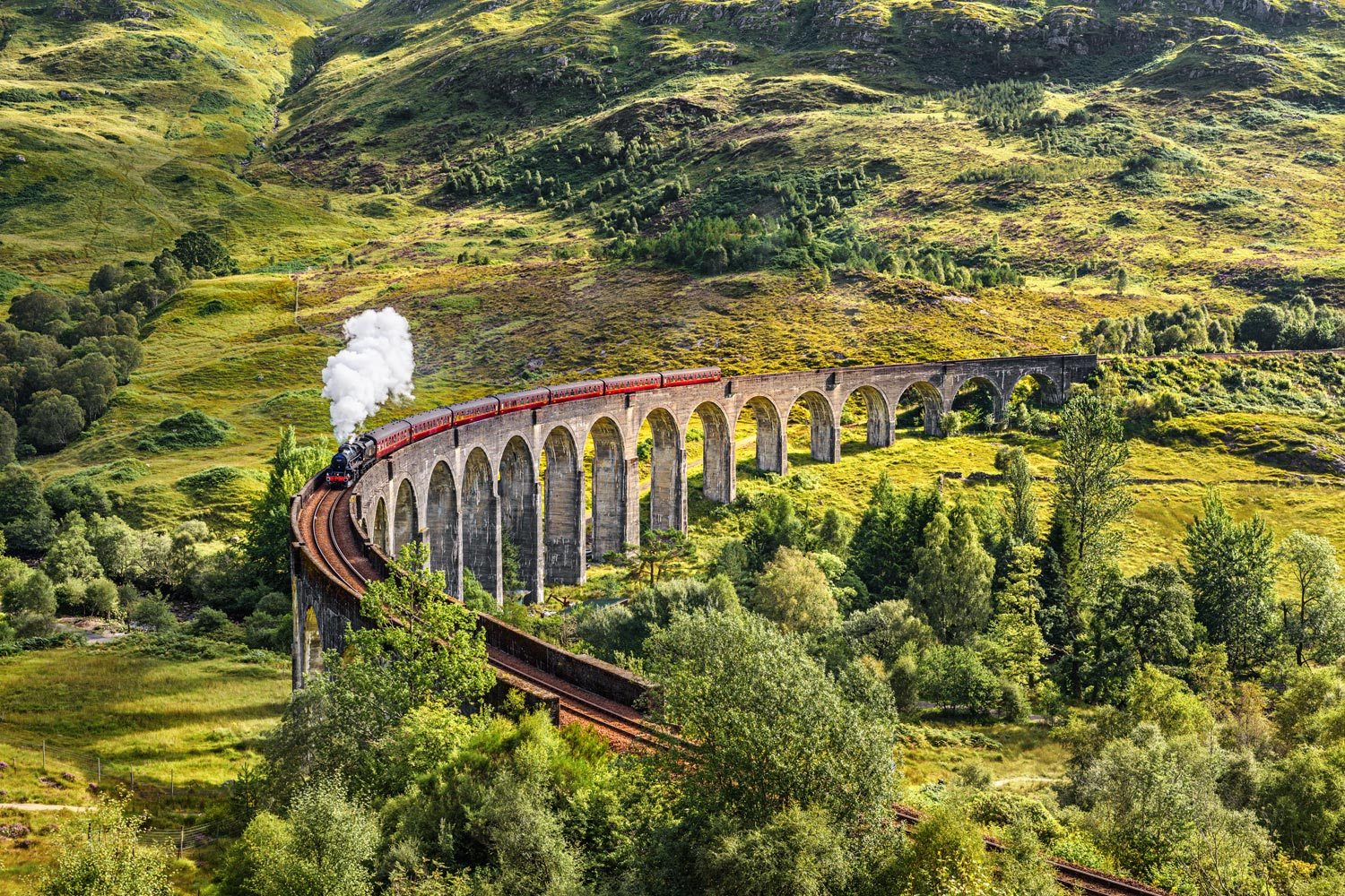 Glenfinnan Viaduct, Inverness-shire