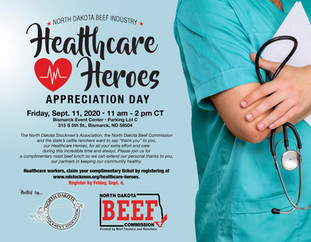 North Dakota cattle ranchers to host Healthcare Heroes Appreciation Day