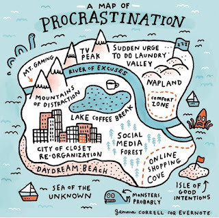 Procrastination is the new murderer.