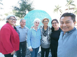 Maria Guinand, Anaida Carquez, Luciana Kube, Humberto Bolivar & Julio Julian