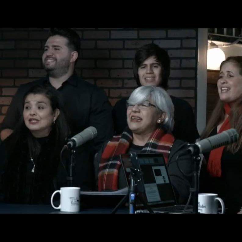 Adela Romero, Carolina Mora, Edival Daniz, Joe Yrausking