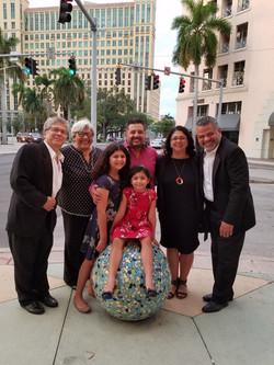 GERMAN MARCANO, NICOLAS REAL, CARLOS SILVA, LUCIANA KUBE, MIRANDA & MANUELA