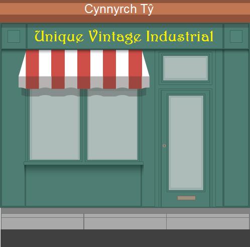 Unique Vintage Industrial