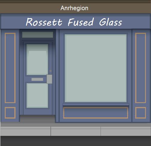Rossett Fused Glass