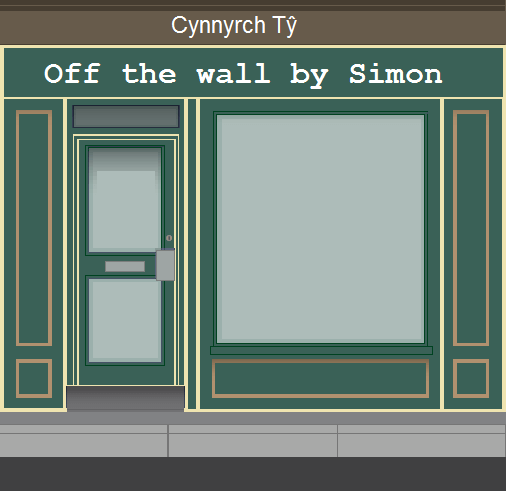 Off the Wall by Simon