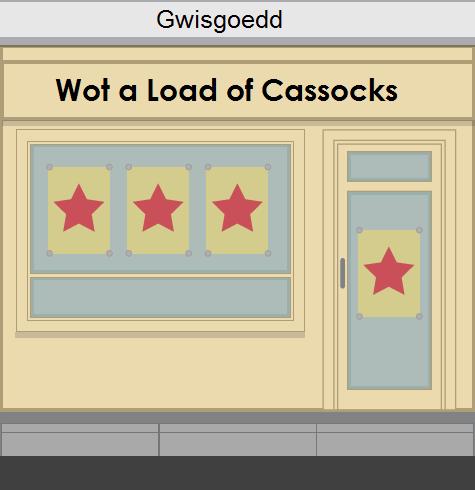Wot a Load of Cassocks
