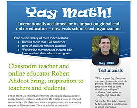 Invite Yay Math to your school for professional development
