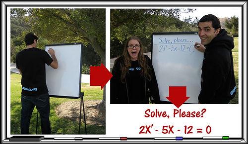 Yay Math and Algebra, unite!