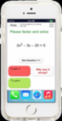 Yay Math Algebra 1 app