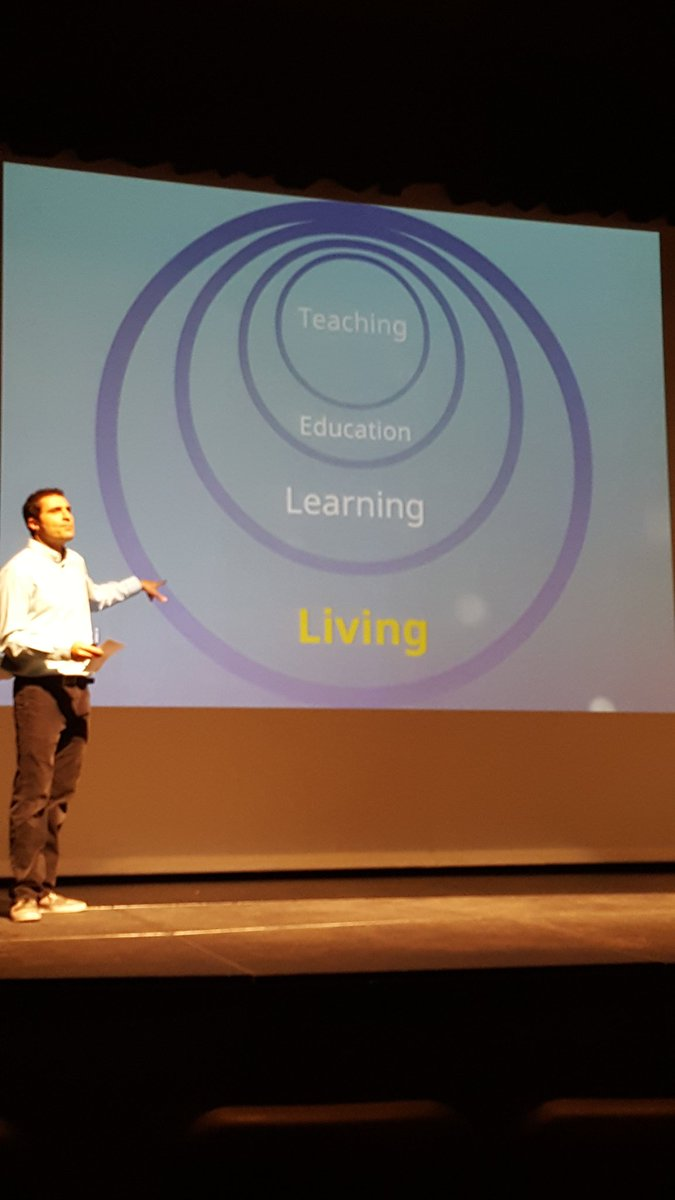Living skills feed teaching skills.