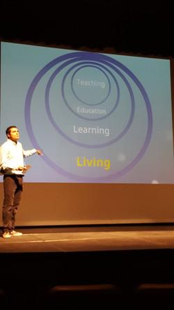 Living skills feed teaching skills.