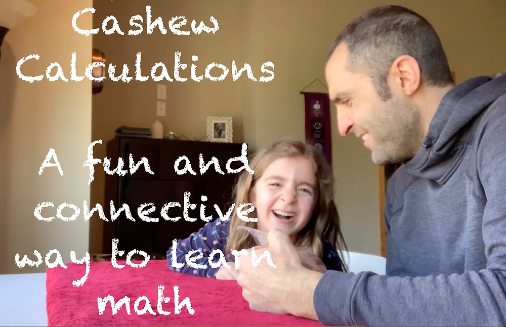 Learning math with laughter, fun, and cashews, of course.
