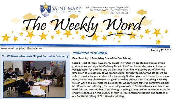 Flipped program featured in school newsletter