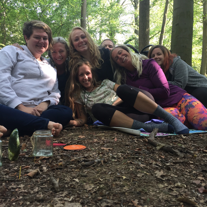 Wild Woman Yoga in the Forest