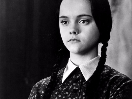 Coming to know and name my emotional shut down response... (Wednesday Adams)