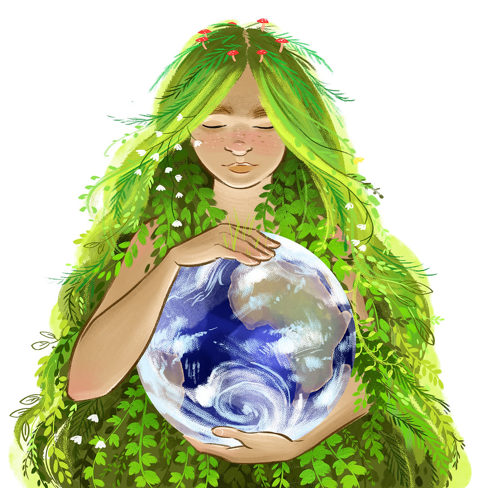 Mother Earth by Laura Wildgoose