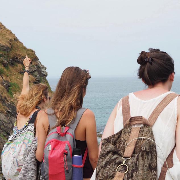 Beach excursion, Cornwall (c). Lisa Chapman