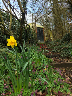 The yurt in spring