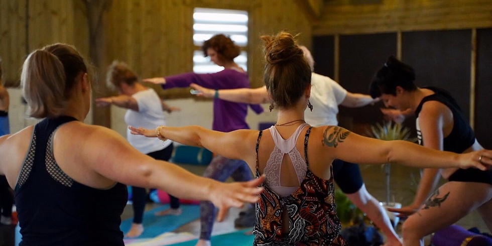 Fierce Free Flow and Meditation on the Farm (online/in person)