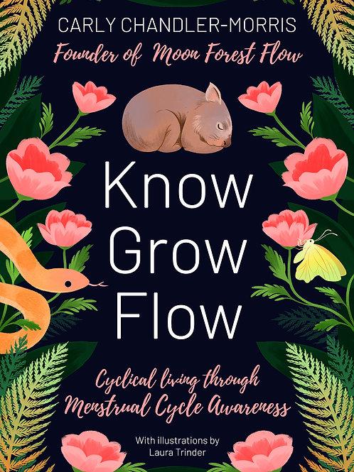 Pre-order: Know Grow Flow workbook (physical & ebook)